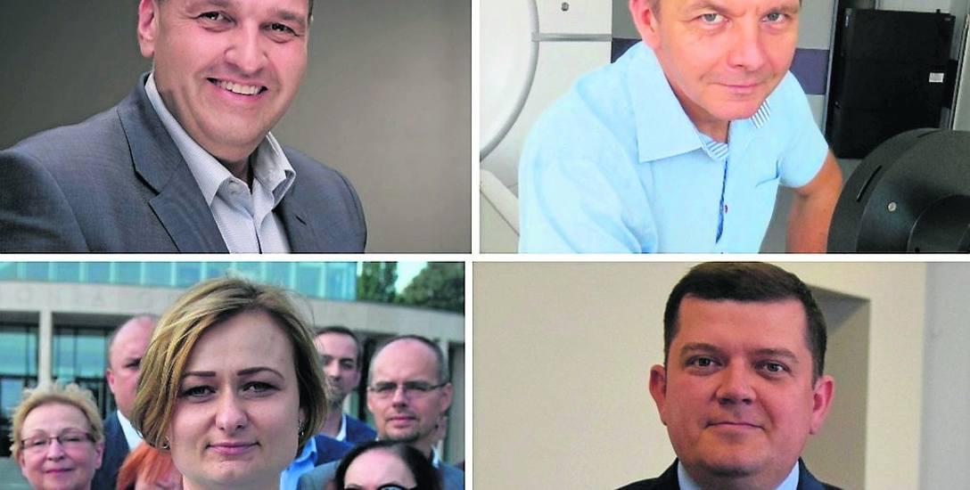 W wyborach wystartują: M. Bejnar-Bejnarowicz, S. Pieńkowski, R. Surowiec i J. Wójcicki