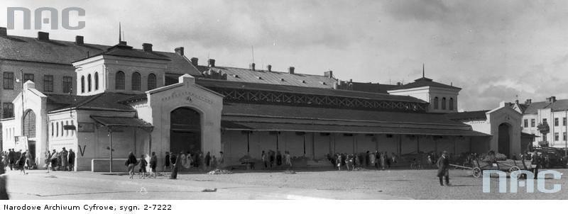 Nowa hala w Radomiu u schyłku 1941 roku