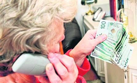 Seniorka straciła 66 tys. zł