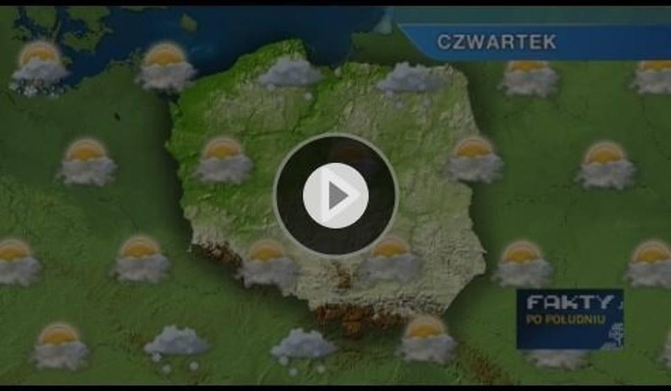 Film do artykułu: Prognoza pogody: Czwartek słoneczny, ale mroźny. Możliwe opady śniegu