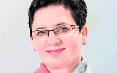 z Janiną Adamczyk, dyrektor Łódzkiego Hospicjum dla Dzieci i Dorosłych