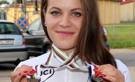 Darłowo: Powitanie mistrzyni świata w kolarstwie