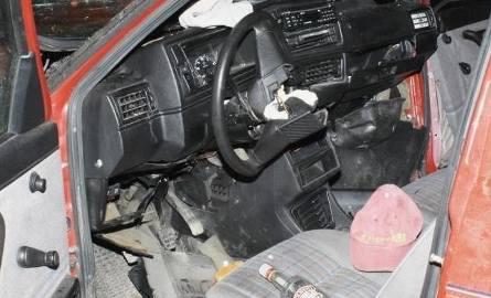 Pijane małżeństwo wiozło pasażera. Zginął na miejscu