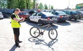 Policja odzyskała skradziony rower