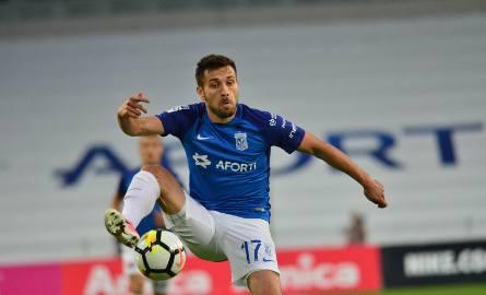 Maciej Makuszewski wraca do składu na mecz z Lechią.