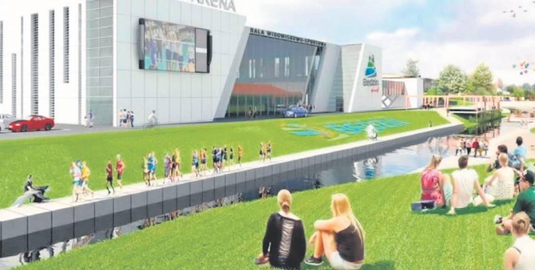 Dzięki budowie hali widowiskowo-sportowej rewitalizację przejdą także bulwary Czarnej Przemszy w Będzinie.