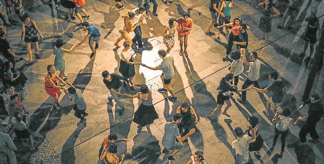 Milewszczyzna: Wiejskie zabawy jak sprzed lat. Takie tańce tylko w Parku Kulturowym w Milewszczyźnie