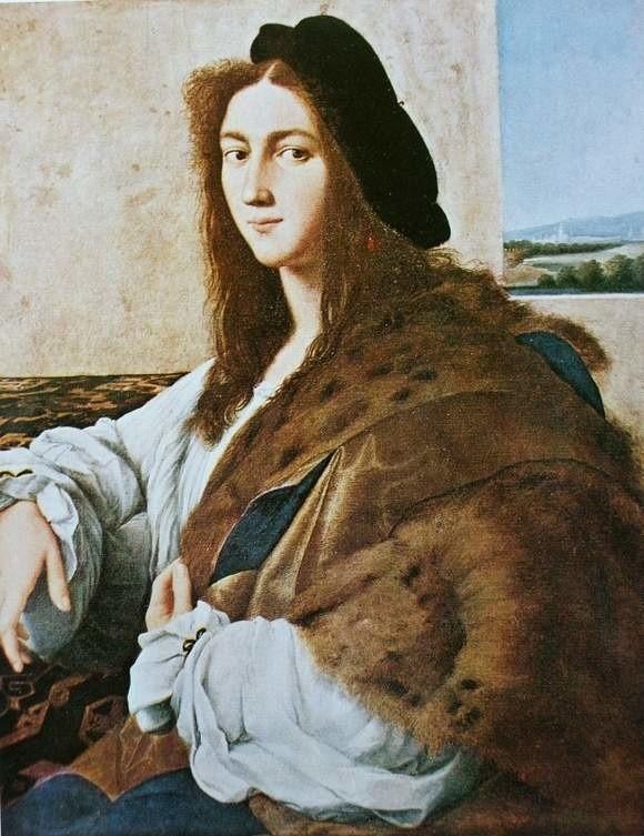 Portret młodzieńca, mal. Rafael Santi