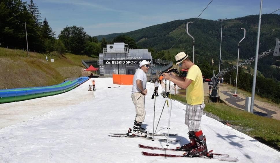 Film do artykułu: Coś dla narciarzy w środku lata WIDEO+ZDJĘCIA