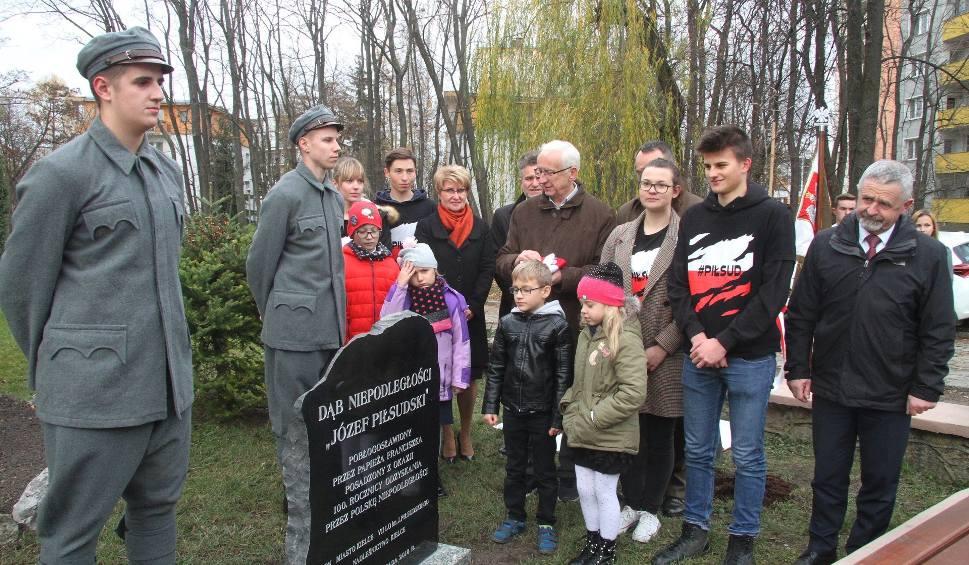 Film do artykułu: Dąb Niepodległości poświęcony przez papieża rośnie w Kielcach (WIDEO, zdjęcia)