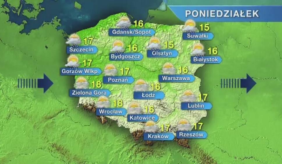 Film do artykułu: Pogoda w Opolu i na Opolszczyźnie. Poniedziałek chłodny i wietrzny
