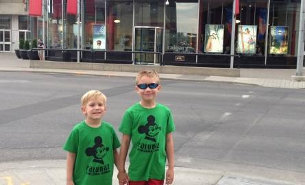 Młodzi fani Stelmetu Falubazu z dalekiej Kanady (zdjęcia)