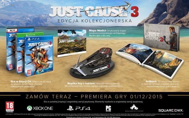 Just Cause 3: Edycja kolekcjonerska z najważniejszym gadżetem