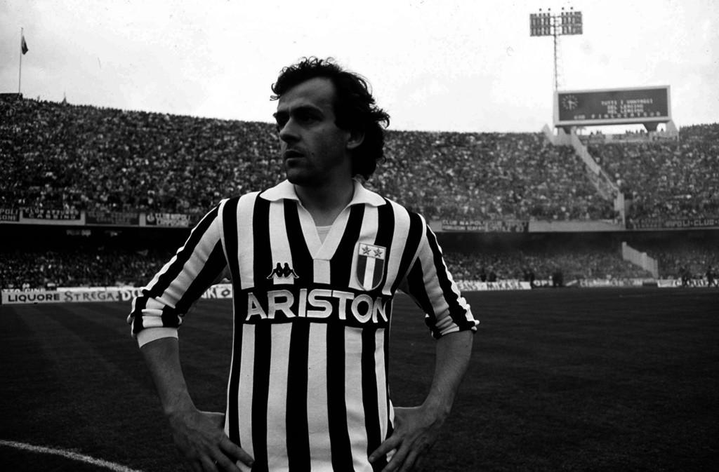 Michel Platini, strzelec zwycięskiego gola w finale na Heysel.
