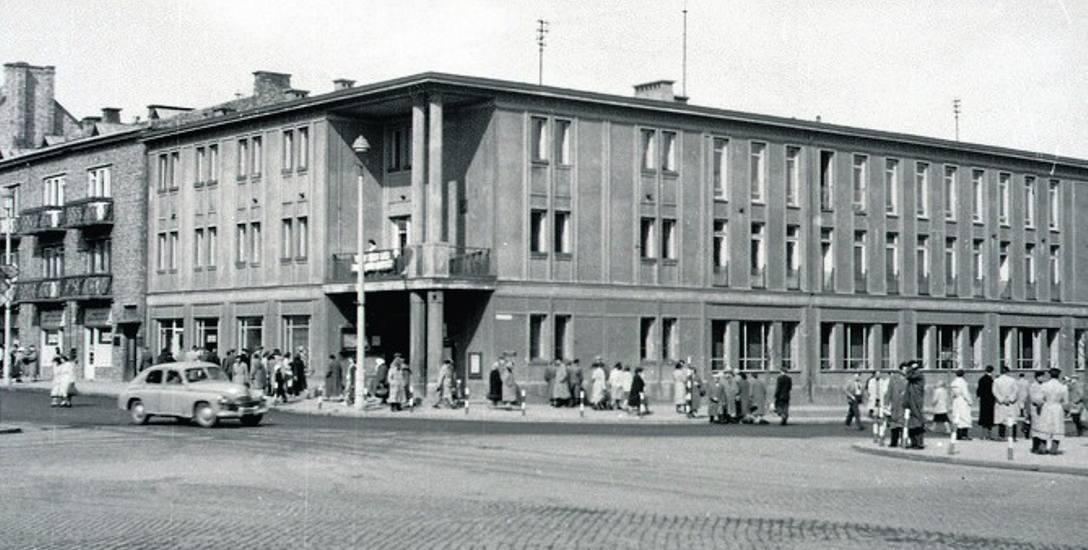 Centrum białostockie w 1958 r.