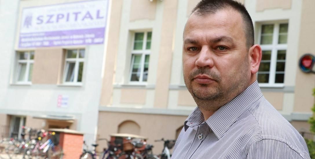 Kamil Jakubowski kierował szpitalem przez siedem lat. Prokuratura nie dopatrzyła się uchybień w jego pracy.