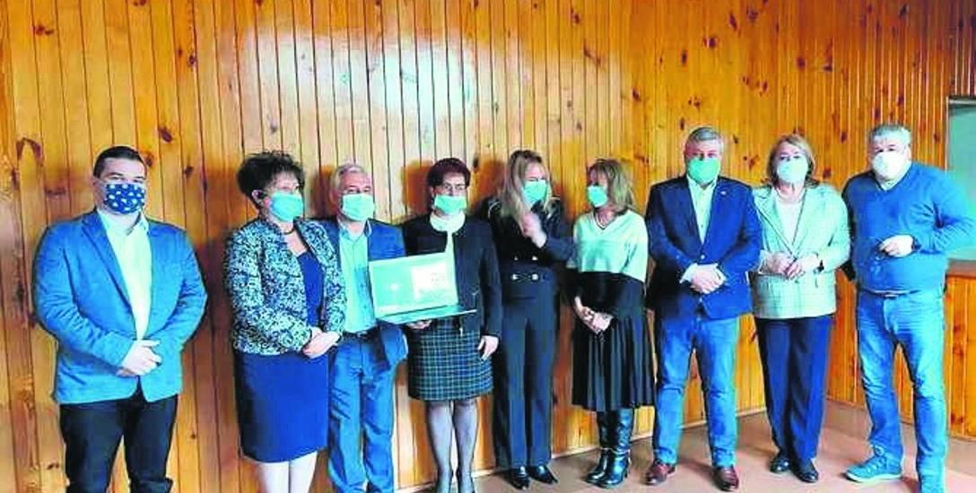 Jedno z pierwszych spotkań nowej rady społecznej szpitala w Skierniewicach