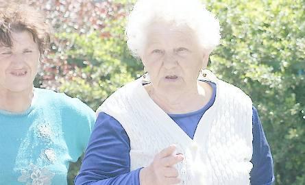 Janina Świerska (z prawej) i jej sąsiadka - Teresa Domżalska