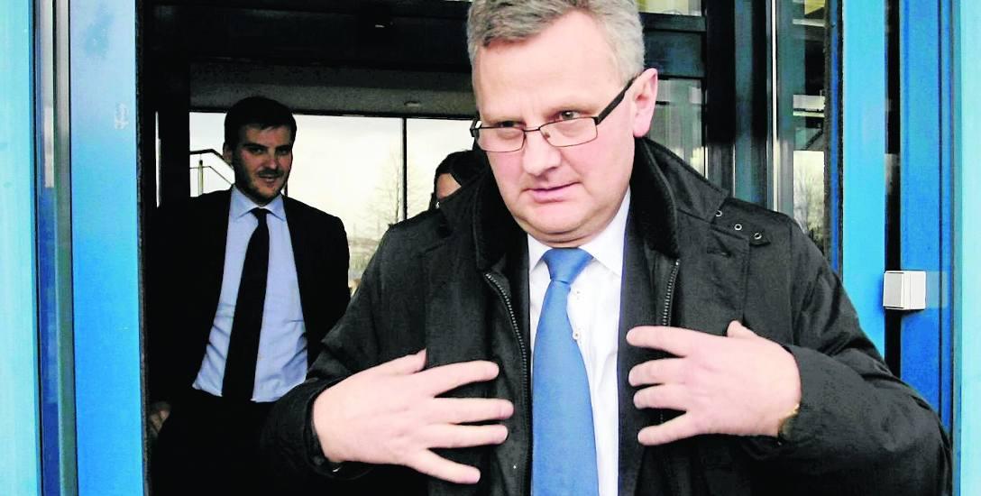 """Aleksander Grad należał do grona najbardziej wyrazistych polityków PO w Małopolsce. Przeciwnicy nazywali go nawet """"Carem"""""""