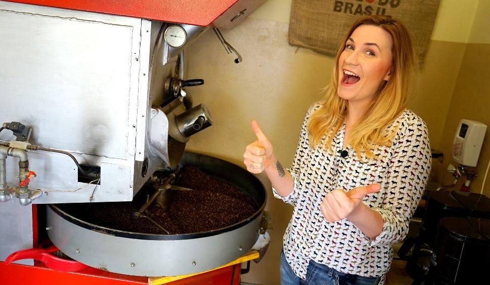 Film do artykułu: TU BYŁAM odc.59. Kasia sprawdzała jak wypala się kawę w Będzinie WIDEO + ZDJĘCIA
