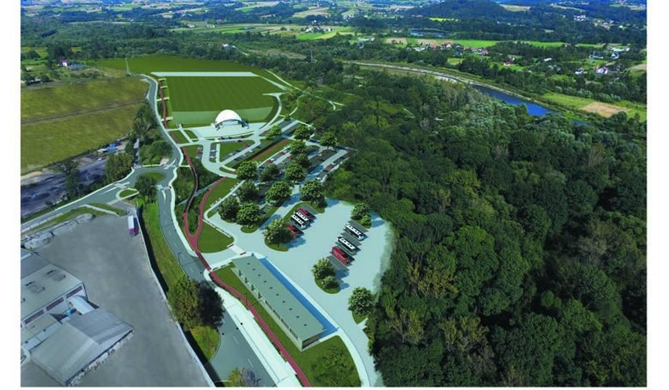"""Film do artykułu: Wadowice. Wały uniemożliwią budowę nowej drogi? Wody Polskie mówią """"nie"""""""