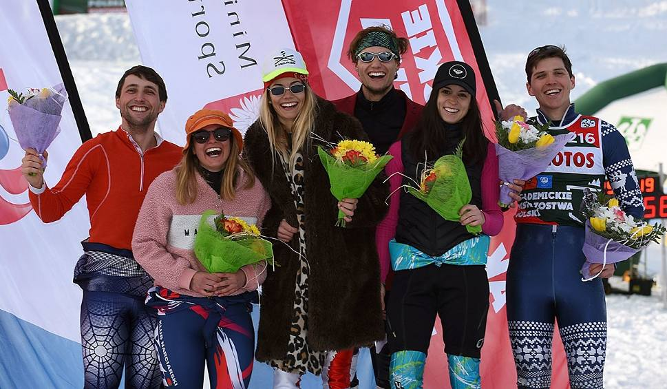 Film do artykułu: Narciarstwo alpejskie. Akademickie Mistrzostwa Polski: Antoni Szczepanik i Adam Chrapek dwukrotnie na podium