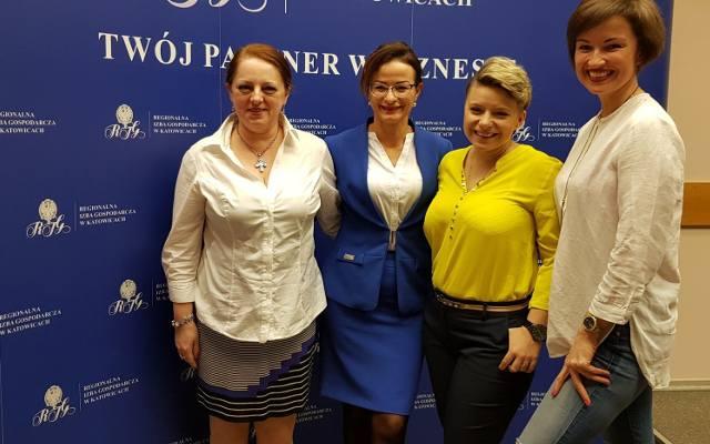 bcb8fc90575733 Pierwiastek K! Inspirujący Dzień Kobiet w Regionalnej Izbie Gospodarczej w  Katowicach 8 marca 2019 ZDJĘCIA