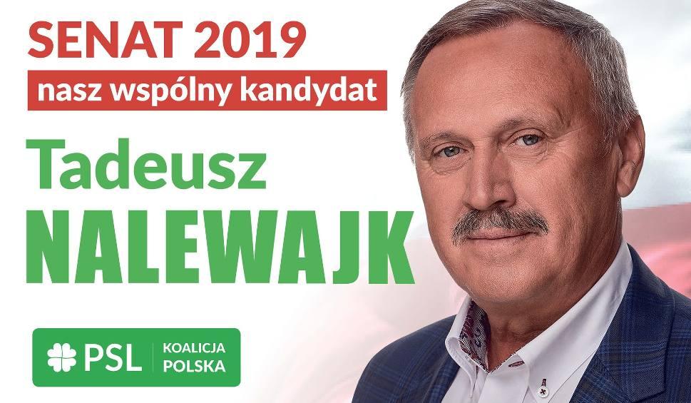 Film do artykułu: Obiecuję solidną pracę na rzecz mieszkańców naszego regionu - Tadeusz Nalewajk, PSL Koalicja Polska, kandydat do Senatu RP