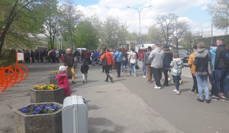 Film do artykułu: Olbrzymie kolejki do zoo i korki na placu Grunwaldzkim (ZDJĘCIA)