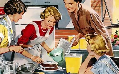 Jak wywabić plamę po winie? Jak wyleczyć AIDS? Polskie gospodynie domowe wciąż szukają porad w prasie. Jakich?