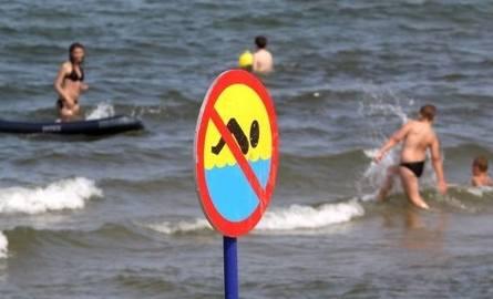 W Gdańsku zamknięto cztery kąpieliska