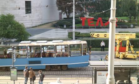 Wykolejenie tramwaju koło Capitolu