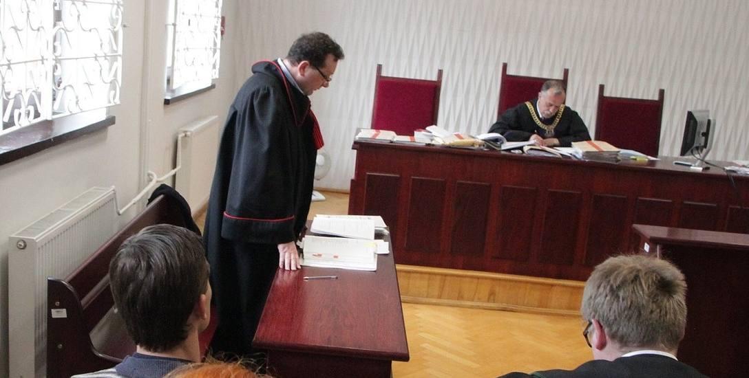 Prokurator zażądał kary dwóch lat więzienia w zawieszeniu na pięcioletni okres próby.