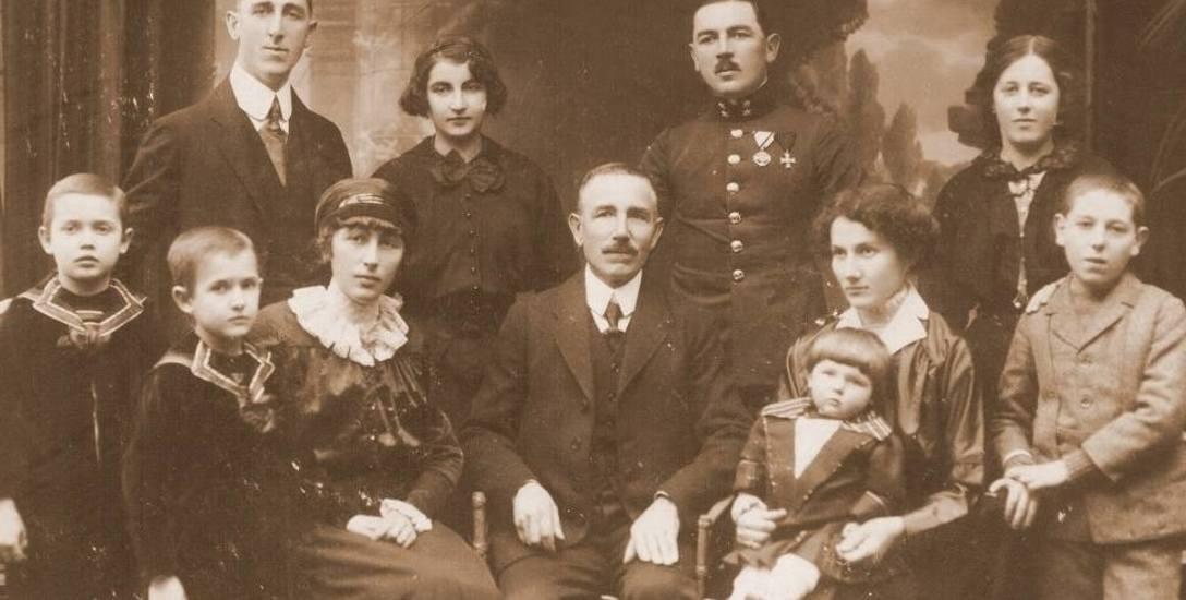 Wiktor Ludwikowski z rodziną