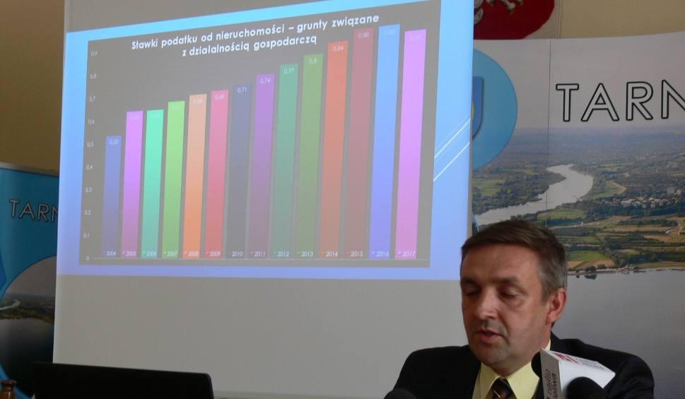 Film do artykułu: Po latach wzrostu w Tarnobrzegu szykuje się obniżka stawek podatku od nieruchomości