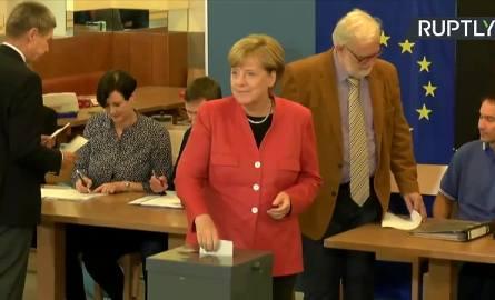 Wybory do Bundestagu. Angela Merkel oddała głos