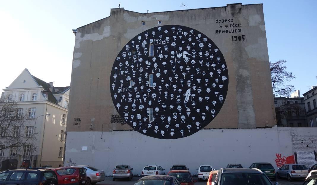 Murale W Lodzi Jest Ich Sporo Ale Niewiele Nawiazuje Do Historii