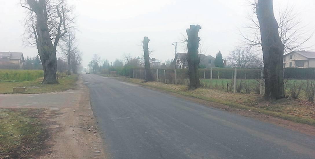 Trasa ze Skierniewic do Głuchowa to jedna z najbardziej uczęszczanych dróg w powiecie skierniewickim