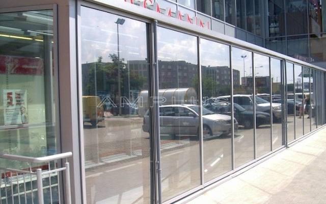 Folia okienna przeciwsłoneczna zewnętrzna – przykładowe zastosowanie.