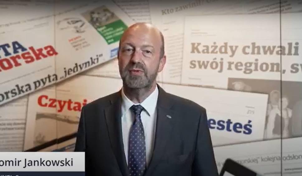 Film do artykułu: Sławomir Jankowski o tym, jak firma PIXEL odnalazła się w pandemii. 25. Złota Setka Pomorza i Kujaw [wideo]