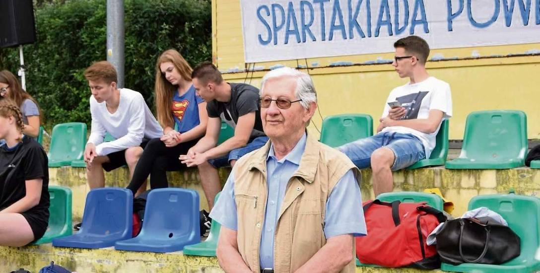Zbigniew Orywał regularnie odwiedza Wągrowiec podczas spartakiad młodzieży.
