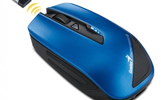 Genius Energy Mouse: Mysz, którą można ładować smaftfony i tablety