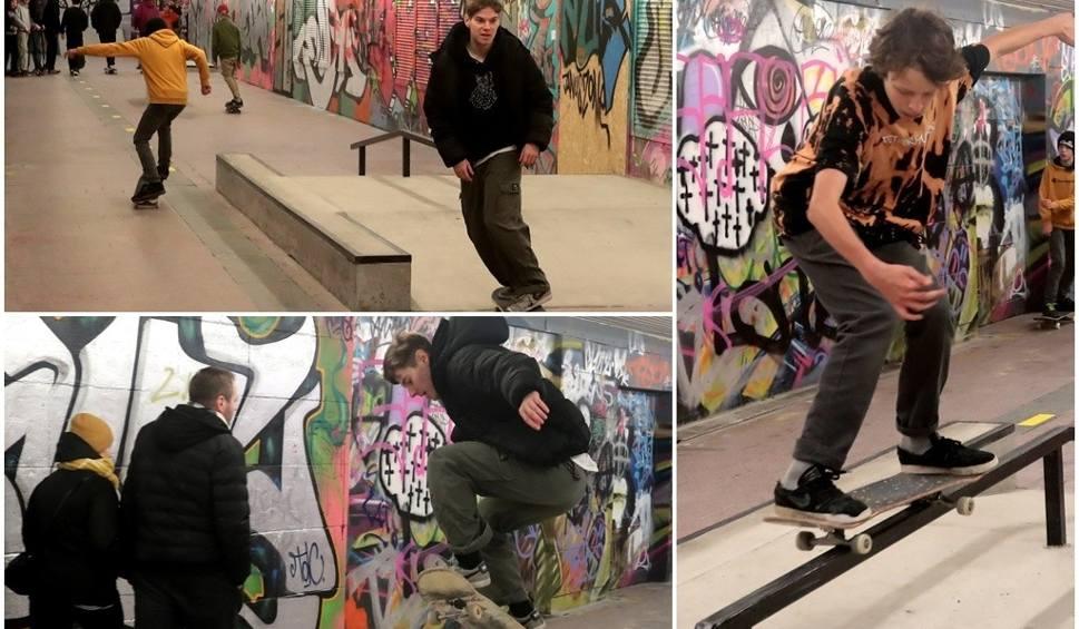 Film do artykułu: Skatepark w przejściu podziemnym oficjalnie otwarty