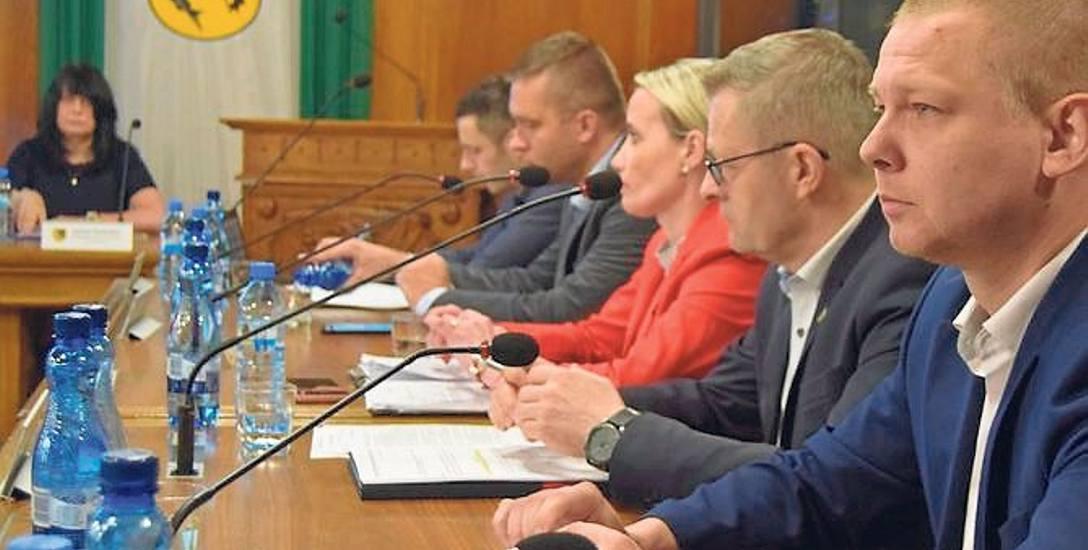 Burmistrz Szczecinka nie znalazł zrozumienia dla projektu nawet w swoim klubie Koalicji Obywatelskiej (na zdjęciu)