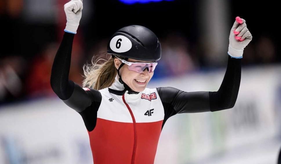 Film do artykułu: Natalia Maliszewska zdobyła złoty medal na Mistrzostwach Europy w short tracku w Dordrechcie (zdjęcia)