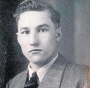 Wacław Hładyn, zdjęcie z 5 grudnia 1945