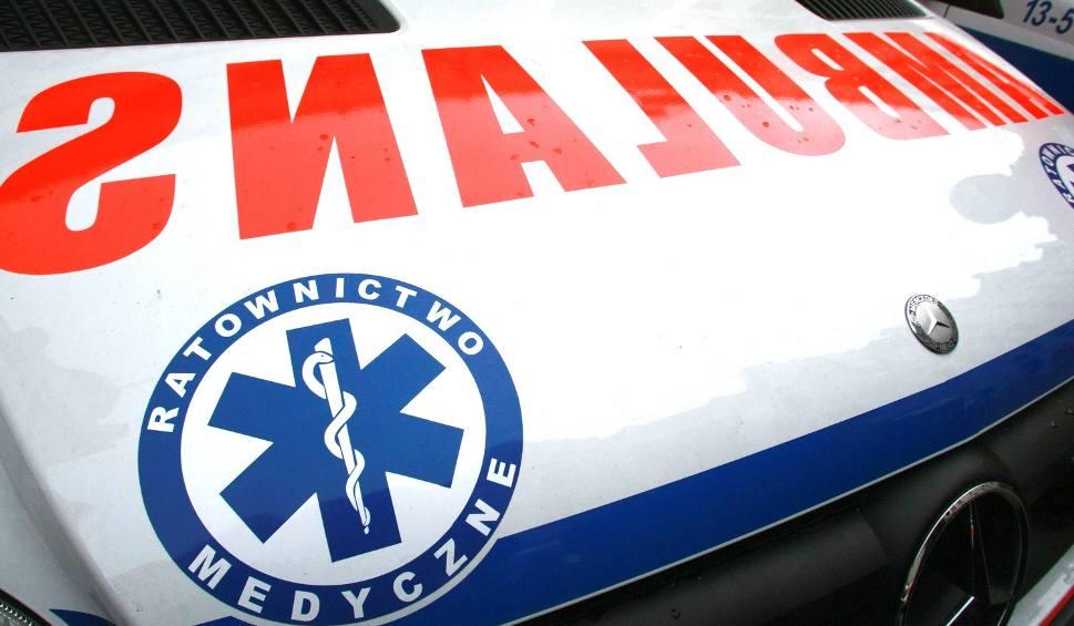 Film do artykułu: Wypadek w Zawichoście. Zginął 29-letni mężczyzna