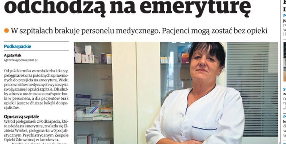 """Ten artykuł w poniedziałkowych """"Nowinach"""" wywołał poruszenie w środowisku medycznym w naszym regionie."""
