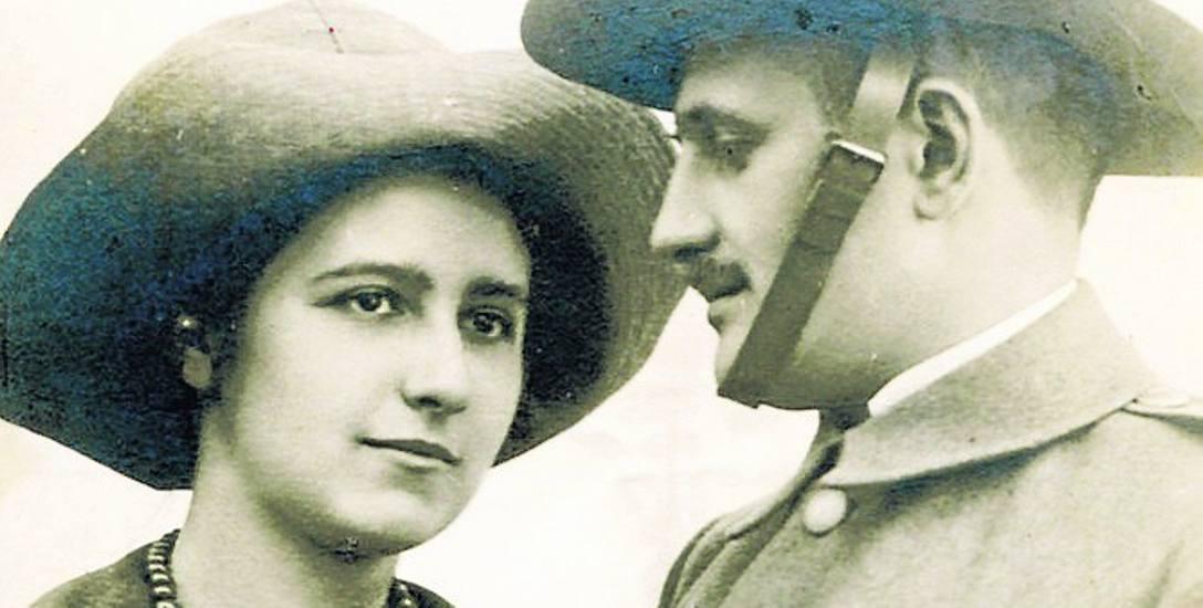Na zdjęciu Olga Drahonowska-Małkowska i jej mąż Andrzej