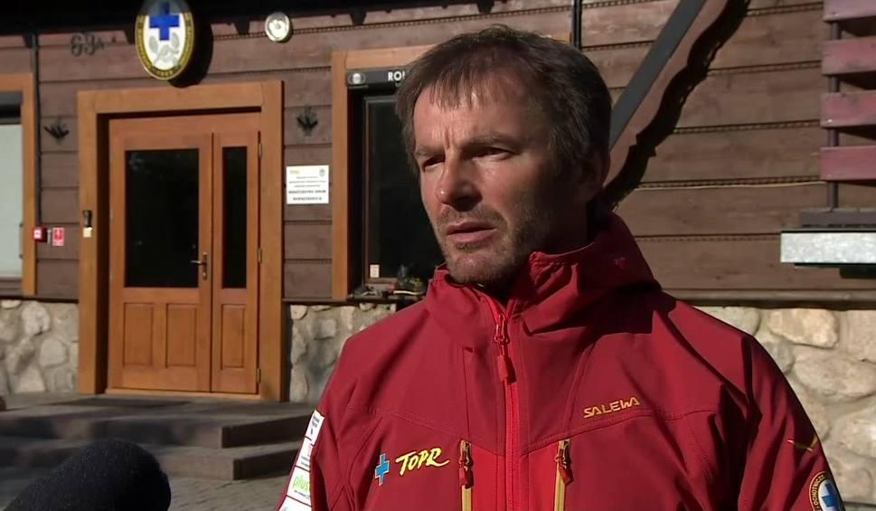 Film do artykułu: Wypadek polskich turystek w Tatrach. Pomocy udzielili Słowacy
